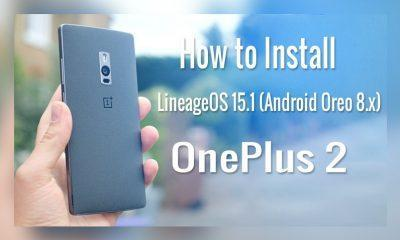 OnePlus 2 LineageOS 15.1