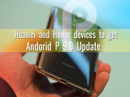 Honor Android P 9.0 update list