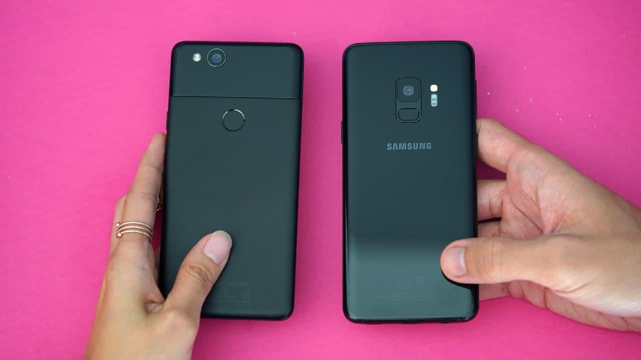 Pixel 2 vs Galaxy S9 camera