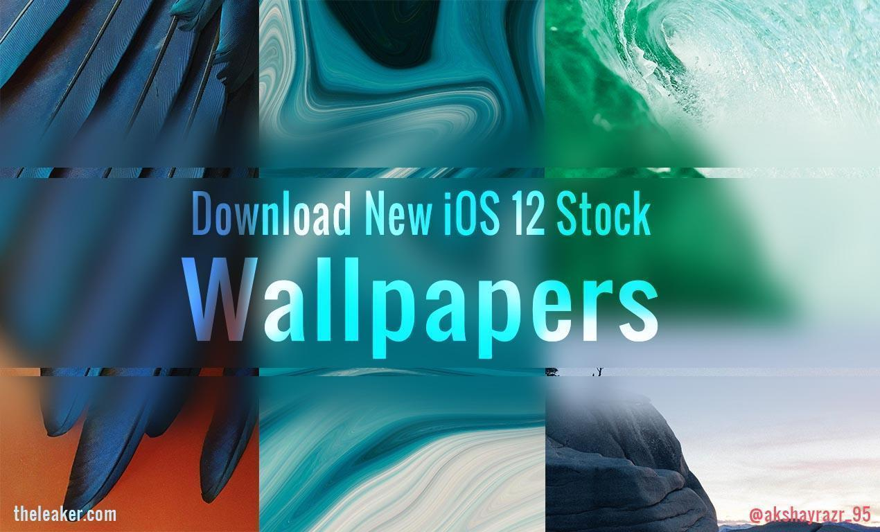 download) apple ios 12 stock wallpapers (hq, hd direct link)
