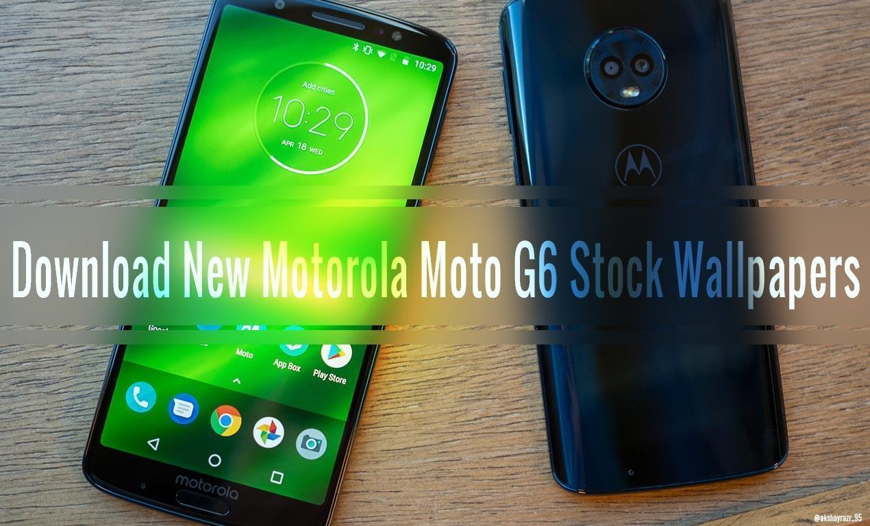 Download Motorola Moto G6 Plus Stock Wallpapers (18:9) (HD