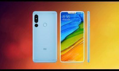 Redmi Note 6 renders