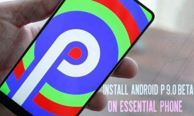 Essential Phone on Android P 9.0 Beta