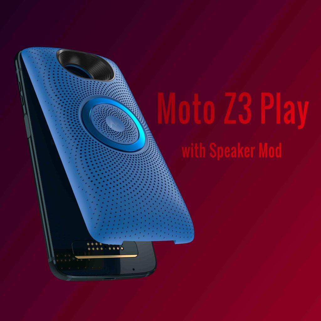 Moto Z3 Play Speaker Mod