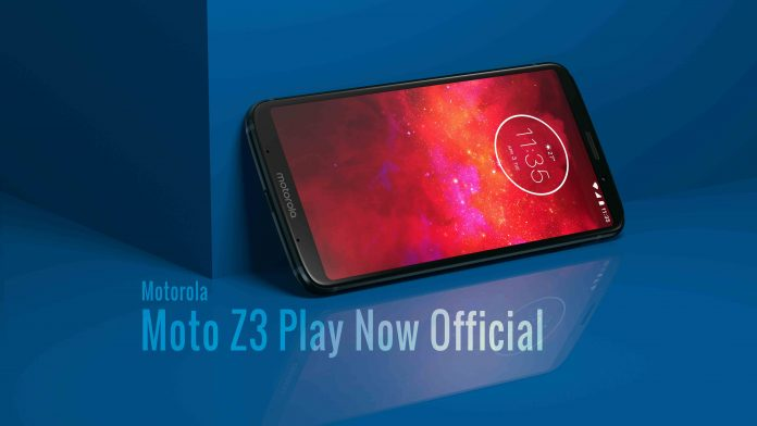Moto Z3 Play Launch