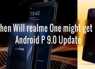 Realme One Android P update