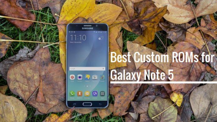 Best Custom ROMs for Galaxy Note