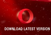 Opera Browser latest update