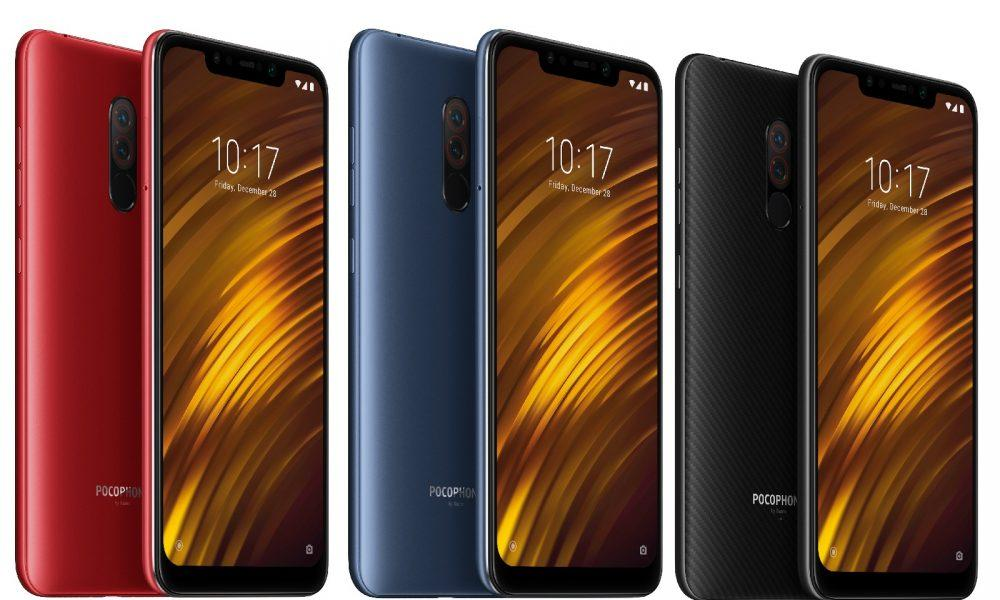 POCO F1 In All Color Models