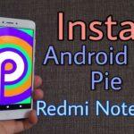 Xiaomi Redmi Note 4 Android 9 Pie Update: Install PixysOS ROM