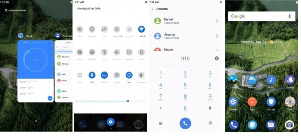Android P theme by Cpkaneria for MIUI