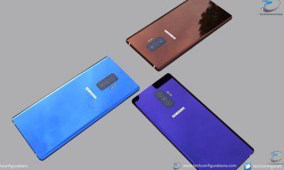 Galaxy Note 10 Fan made renders