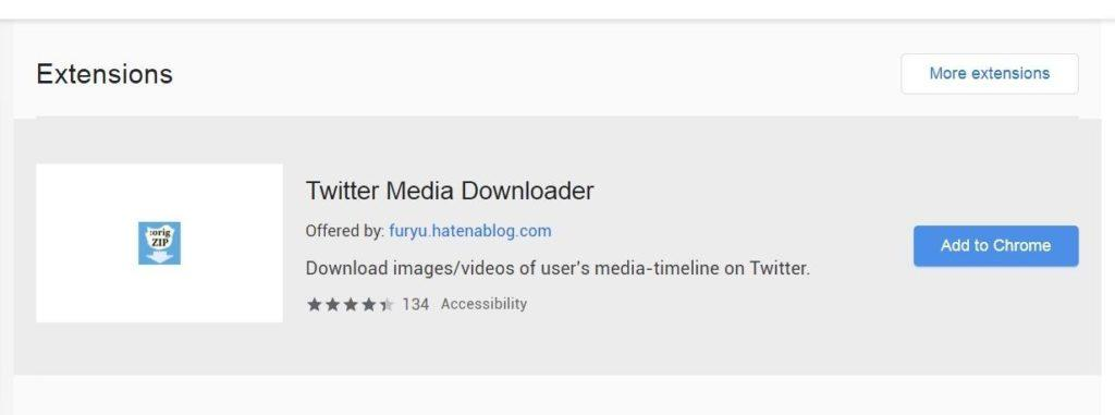 Twitter video downloader plugin