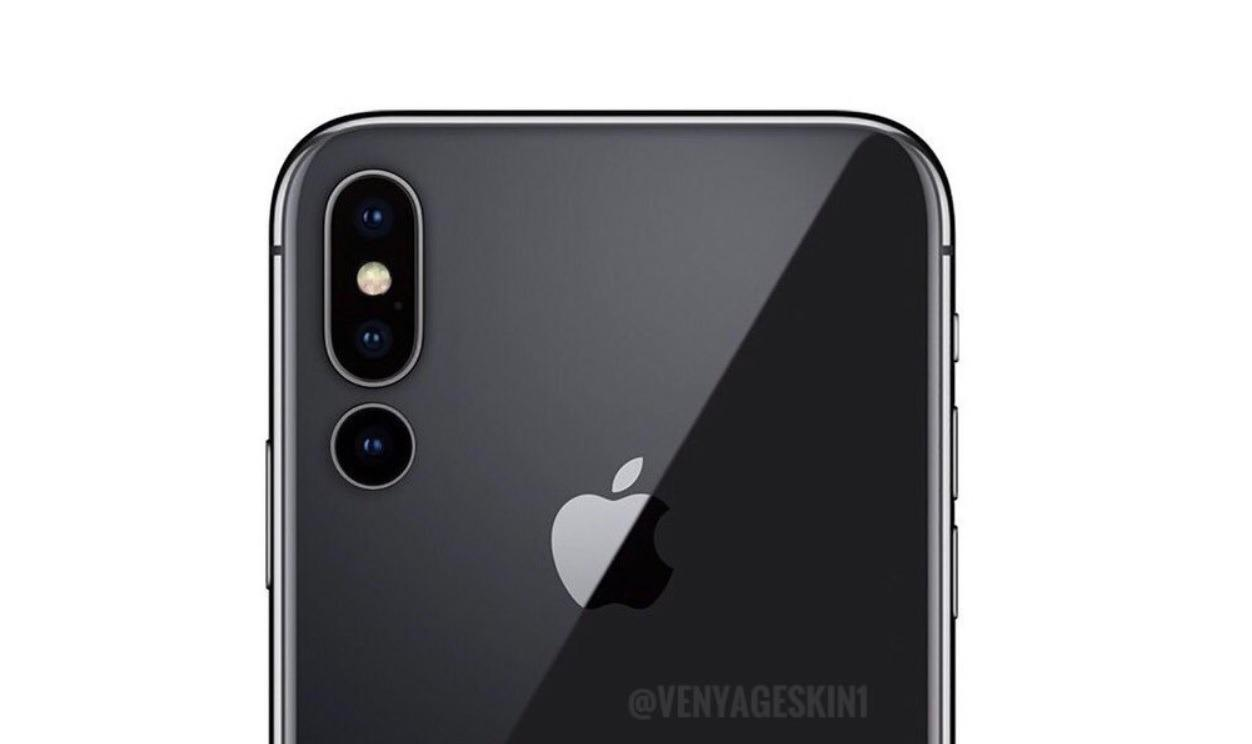 iphone x 2019 to have a triple camera setup report. Black Bedroom Furniture Sets. Home Design Ideas