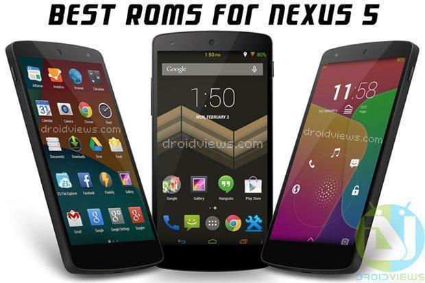 Nexus 5 Custom Rom