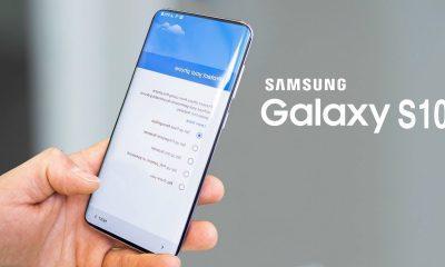 Galaxy S10 render