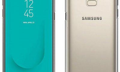 Samsung Galaxy J6 front and back
