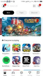 Tutuapp On Android Homescreen