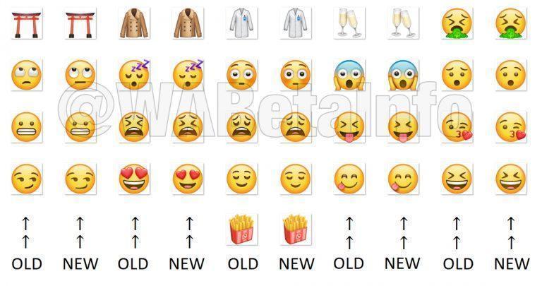 Neue Emojis Whatsapp 2019