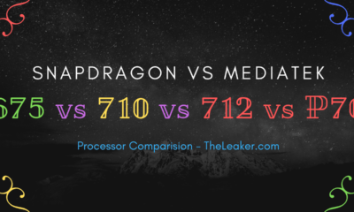 Qualcomm Snapdragon 675 vs. 710 vs. 712 vs. Helio P70