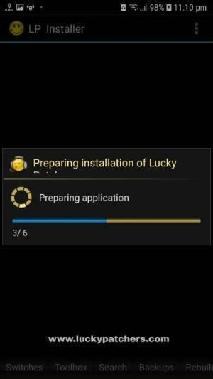 Installing Lucky Patcher APK on Android