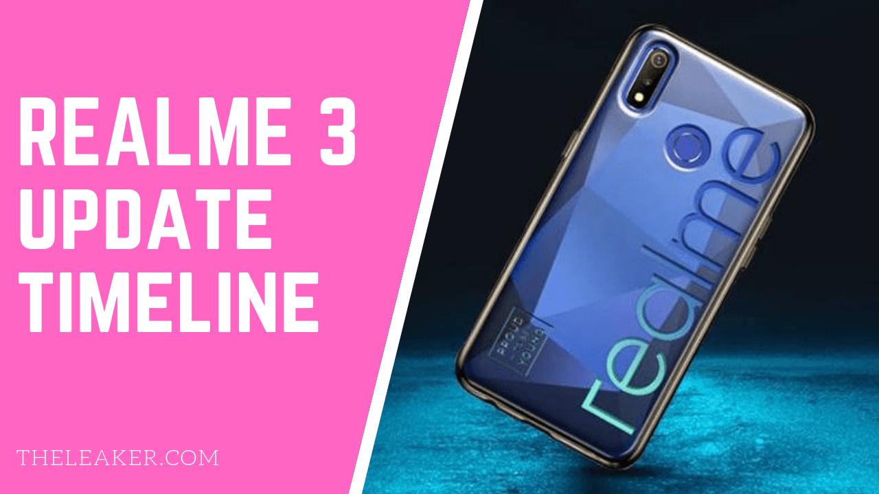 Realme 3 Update