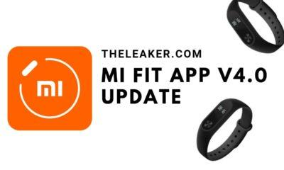 MI Fit 4.0 apk update