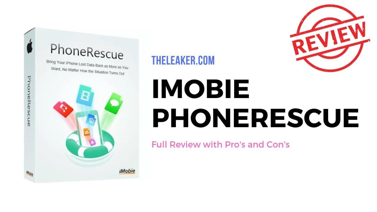 iMobie PhoneRescue Review