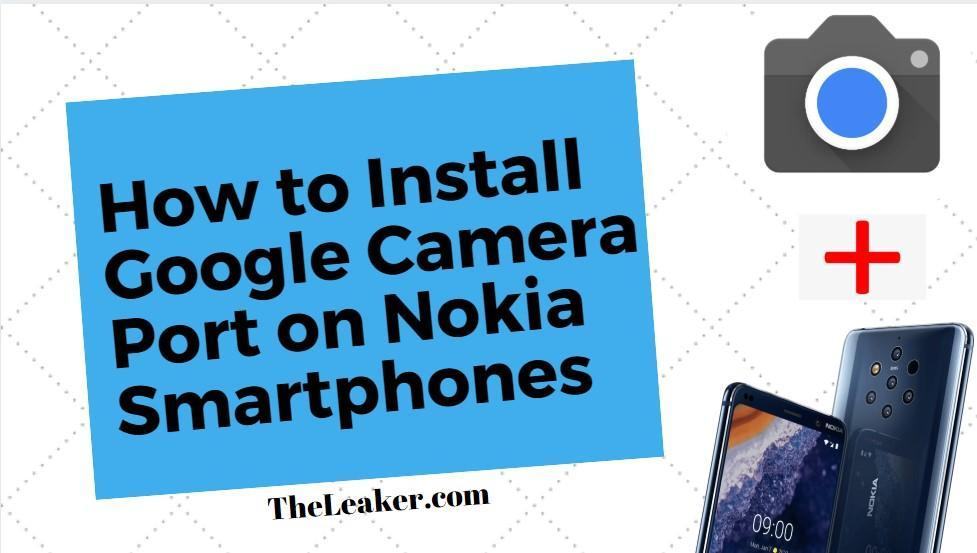 Nokia Google Camera